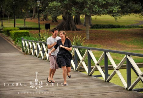Shannon & Kieron at a Park near Sydney Uni – Feb 2011