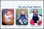 Rilien's 1st Birthday and Naming Day