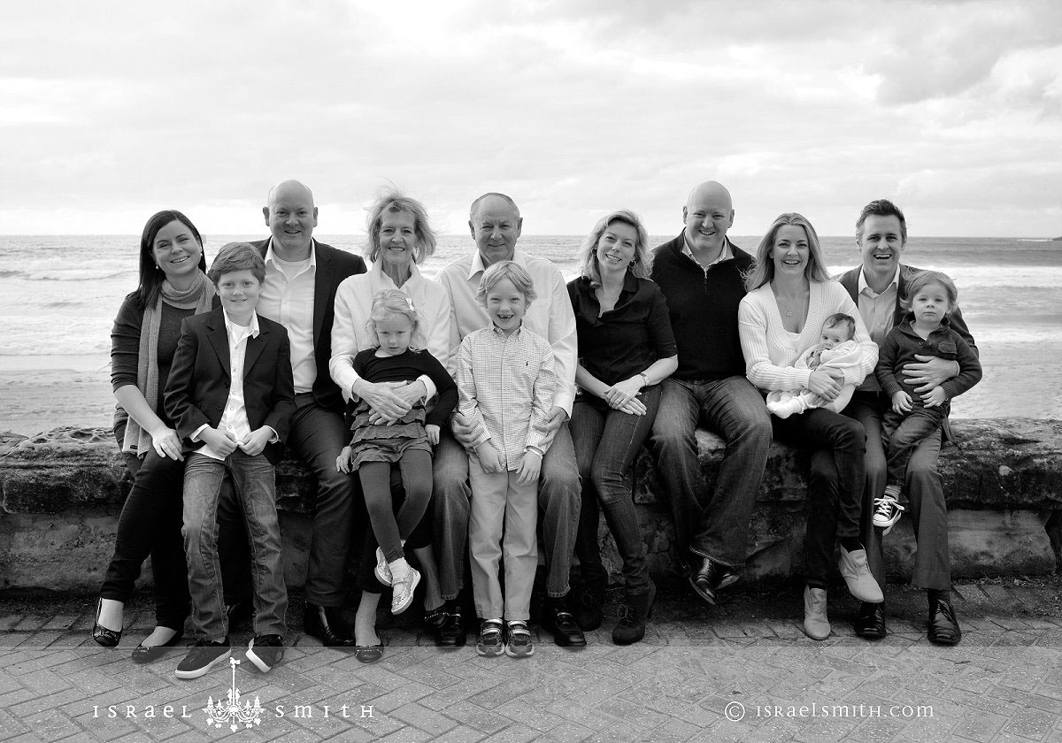 Farewell Inspires Extended Family Portraits