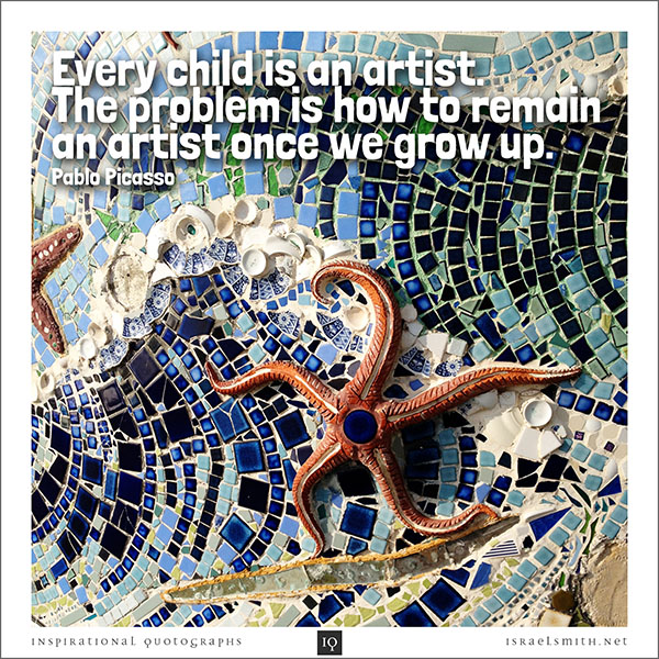 Every child is an artist…