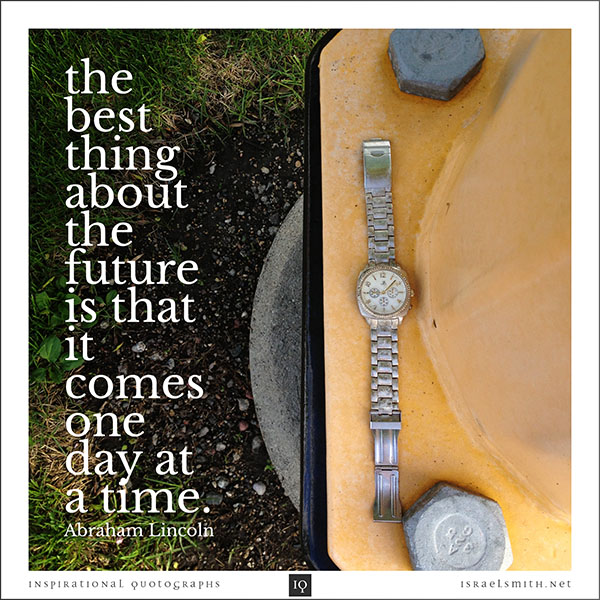 The Best Thing About The Future