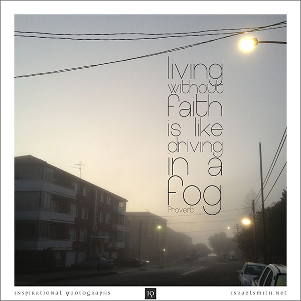 Living without faith