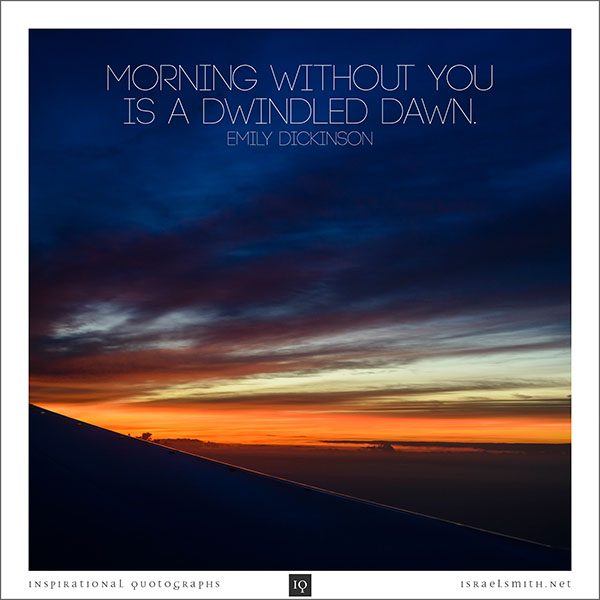 Morning Without You
