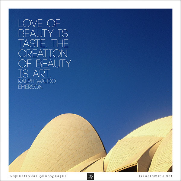 Love of Beauty