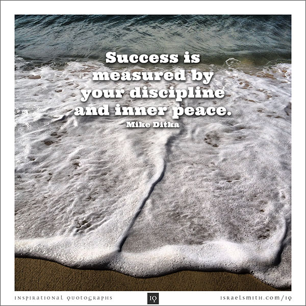 Success is measured