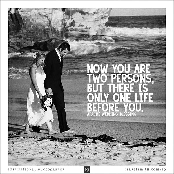 Now you are two persons
