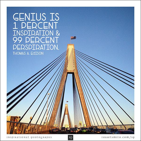 Genius is One Percent