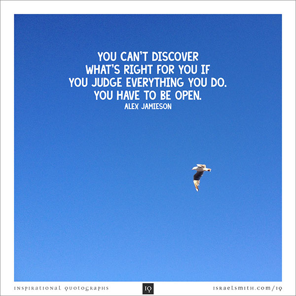 You Can't Discover
