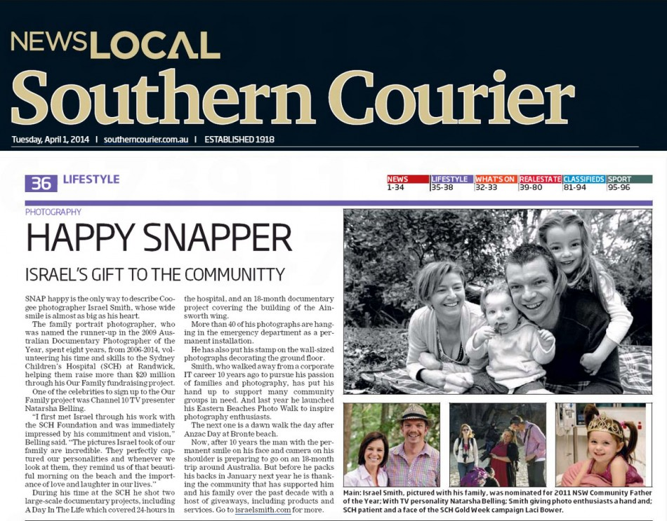 Southern Courier, April 4th 2014