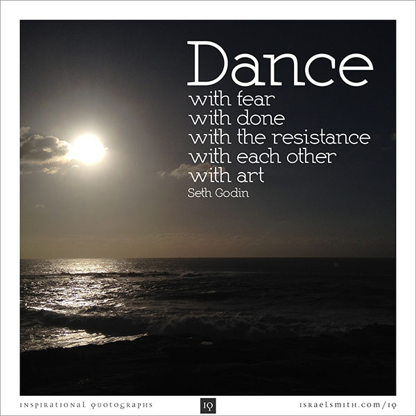 Dance with fear