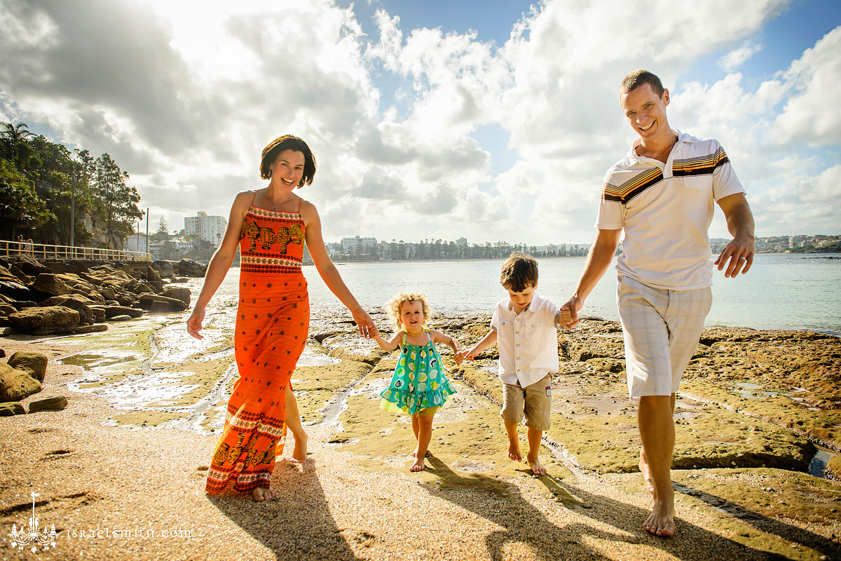 Beach Family Photos at Shelly Beach Manly