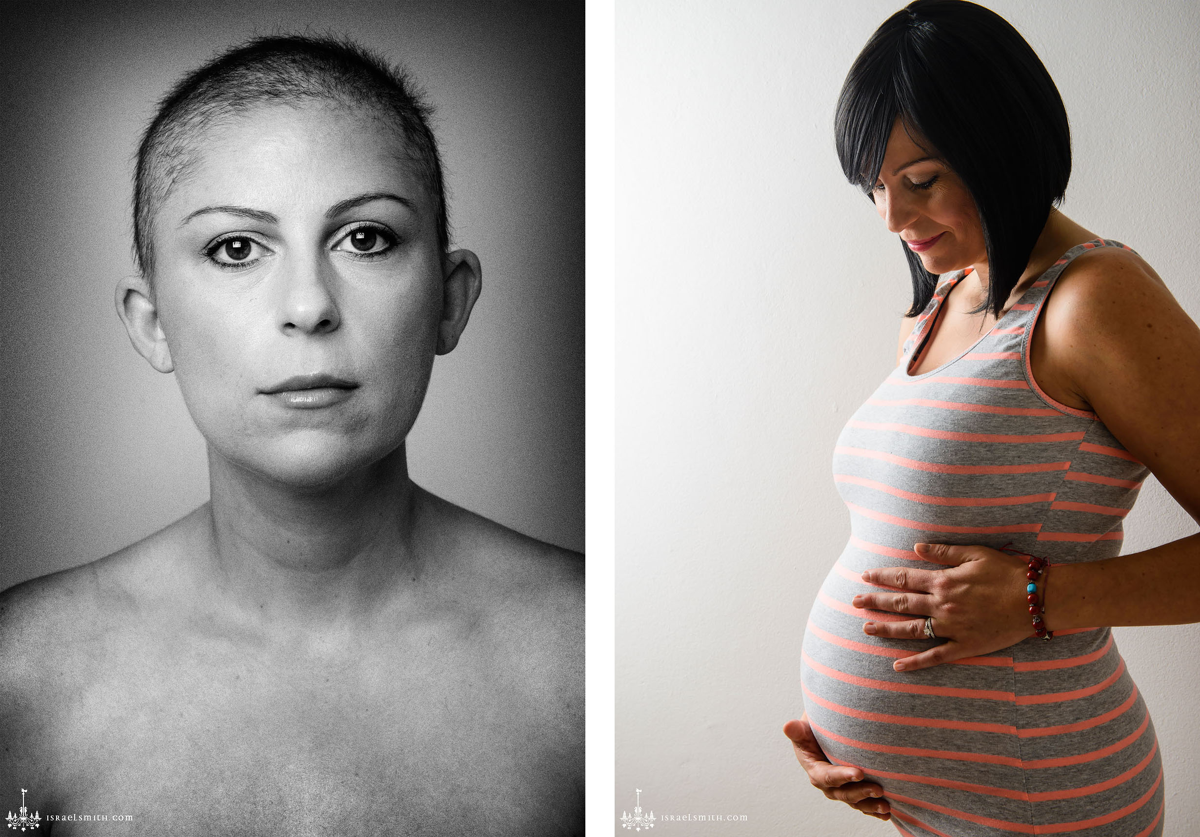 Pregnancy Portraits: Strength and Courage