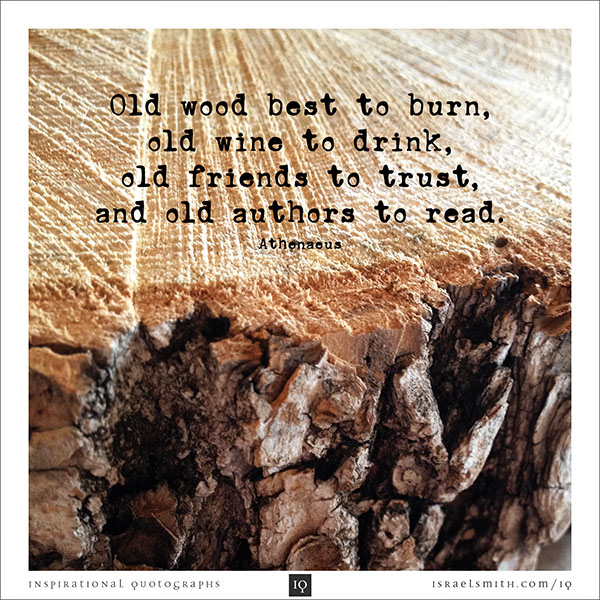Old wood best to burn