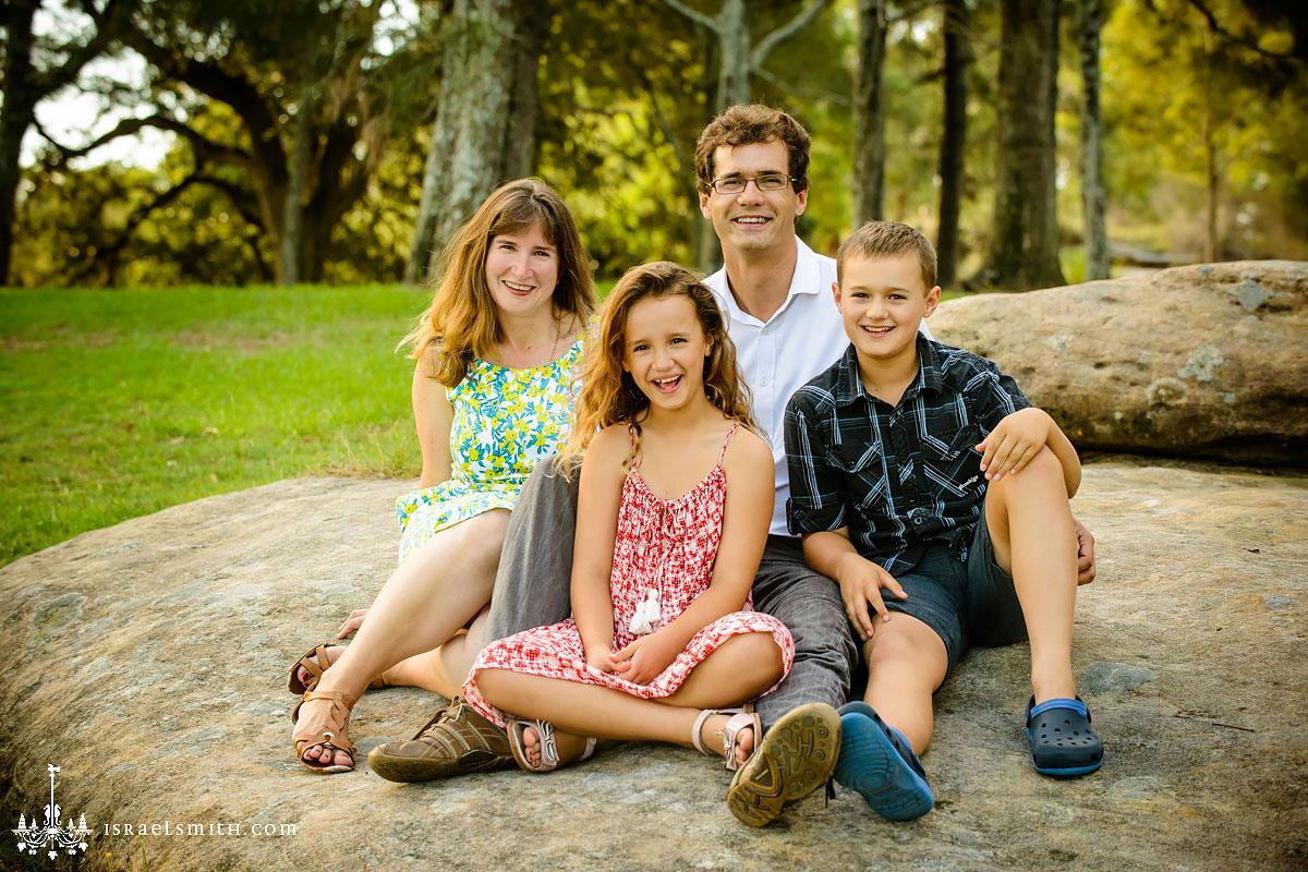 Family Portraits: Sporty Kids at Centennial Park