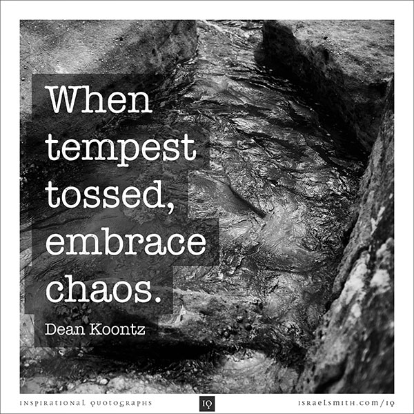 When tempest tossed