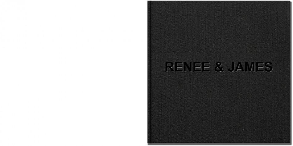 Renee & James Wedding Album1 Front Cover